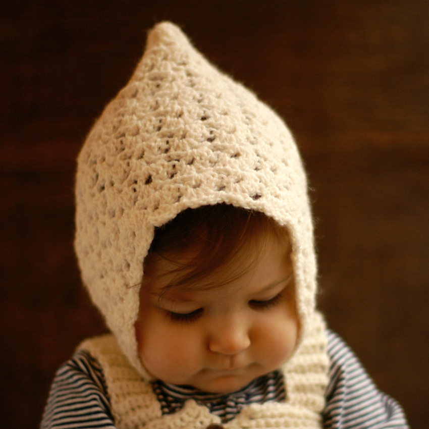 Crochet Pattern Baby Pixie Hat : Vintage Pixie Hat Crochet - Bread & With It